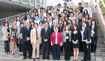 UNMC students share work with colleagues in Tokyo, Shanghai