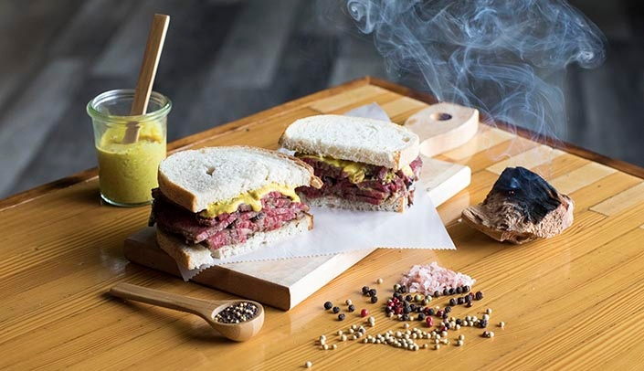 Image with caption: An offering from Ansel's Pastrami and Bagels, one of the vendors who will be attending the fair.
