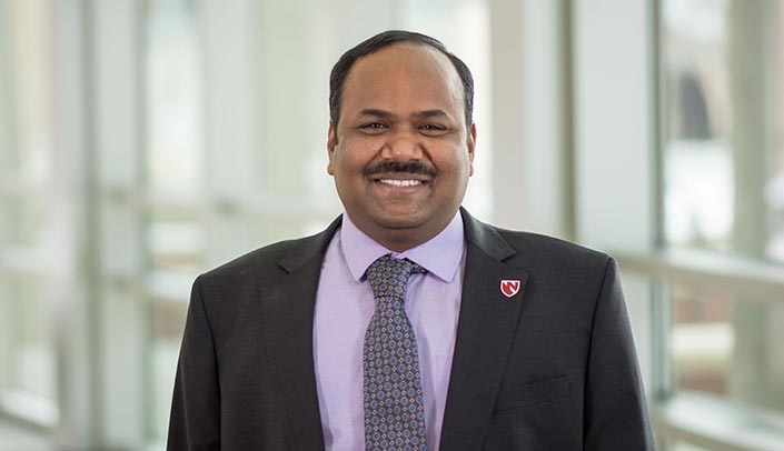 Image with caption: Siddappa Byrareddy, Ph.D.