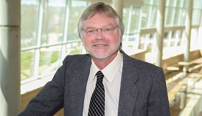 Image with caption: Michael Crawford, Ph.D.