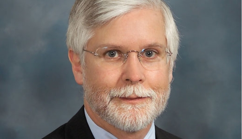 Image with caption: Ken Follett, M.D., Ph.D., UNMC's current division chief of neurosurgery, plans to step down in 2018 and return to being a full-time neurosurgery faculty member.