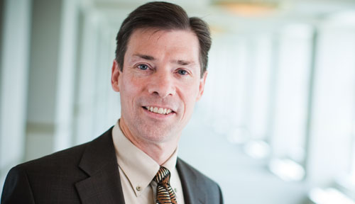 Image with caption: Kyle Meyer, Ph.D., dean of UNMC's College of Allied Health Professions.