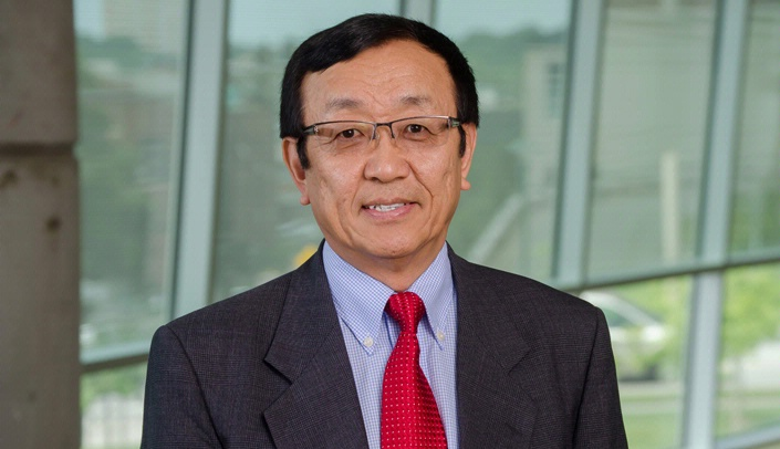Image with caption: Rongshi Li, Ph.D.