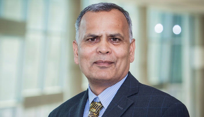 Image with caption: Ram Mahato, Ph.D., chair of pharmaceutical sciences