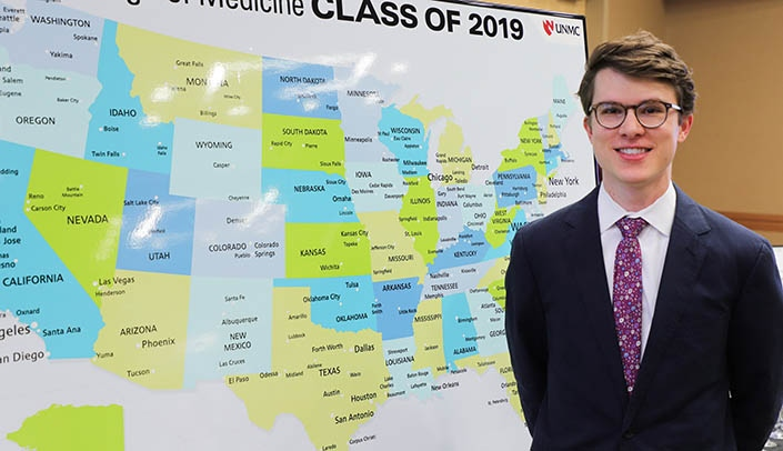 128 medical students receive residency assignments | UNMC