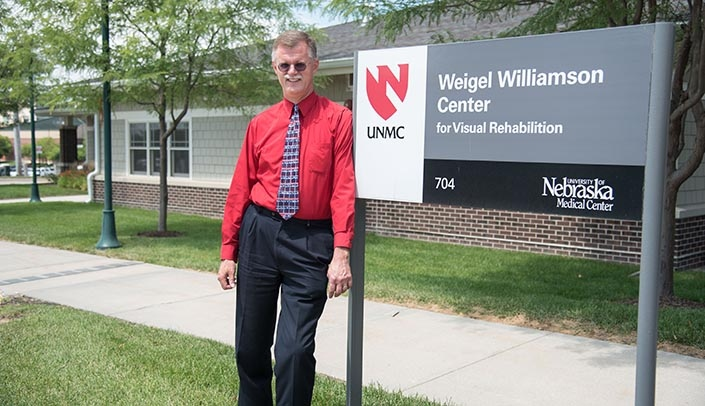 Image with caption: John Shepherd, M.D., director of the Weigel Williamson Center