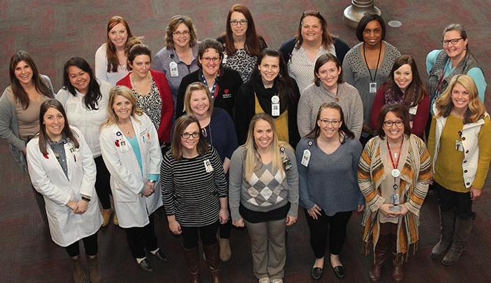 Image with caption: Nebraska Medicine social workers will sponsor a shoe drive this month.