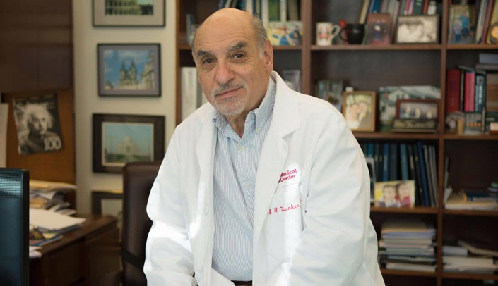 Image with caption: Irving Zucker, Ph.D.
