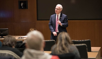 Chancellor's forum covers wide array of topics