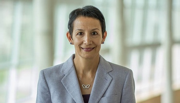 Image with caption: Deborah Levy, Ph.D., chair of the UNMC Department of  epidemiology in the College of Public Health.
