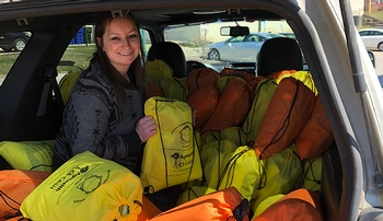 UNMC's flood 'clean-up kits' make positive impact