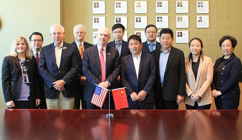 UNMC strengthens its relationship with China