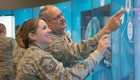 National Guard members tour UNMC