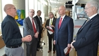 Gov. Ricketts, Sen. Kolterman tour UNMC