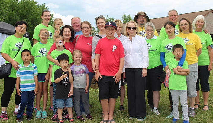 Image with caption: Participants at the 10th annual WalkRite for RiteCare.
