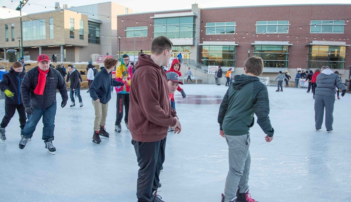 Image with caption: The UNMC Skate-a-thon for Parkinson's has raised more than $210,000 over the past nine years.